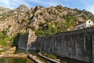 Ancient City Wall of Kotar Old Town
