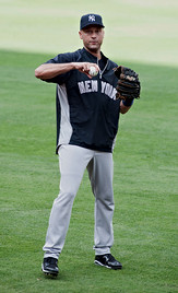 New York Yankee Derek Jeter