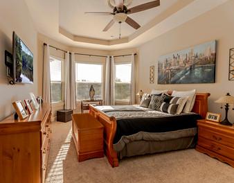 Umbria Hill Drive Master Bedroom