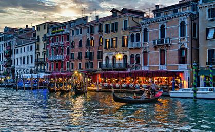 Venice Grand Canal Restaurants