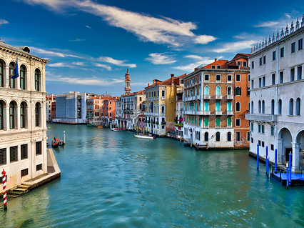 Venice Itlay Grand Canal