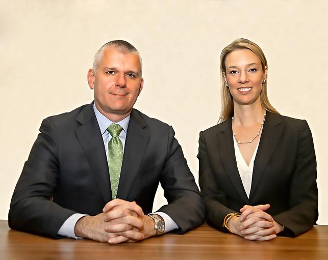 Family Law Attorney's Dennis Collard & Rachel Shockley