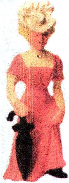 #093 - Gibson Girl w/ Umbrella