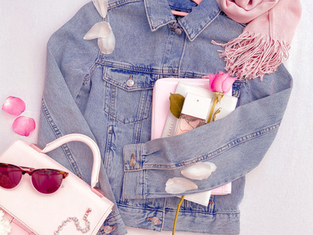 HOW TO STYLE A DENIM JACKET BUT STILL FEEL FEMININE AND CLASSY