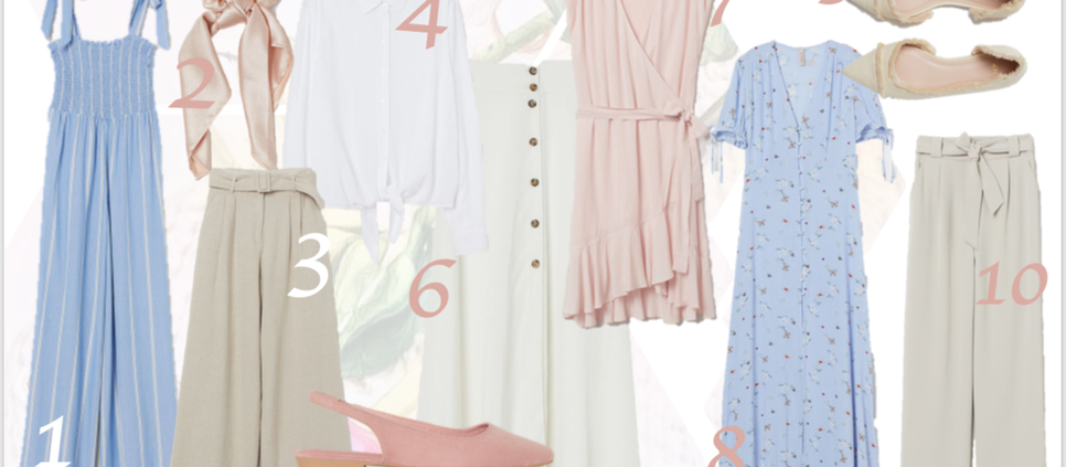 WHAT TO BUY FROM THE H&M SPRING/SUMMER COLLECTION FT THE LYDIA ELISE MILLEN CAMPAIGN