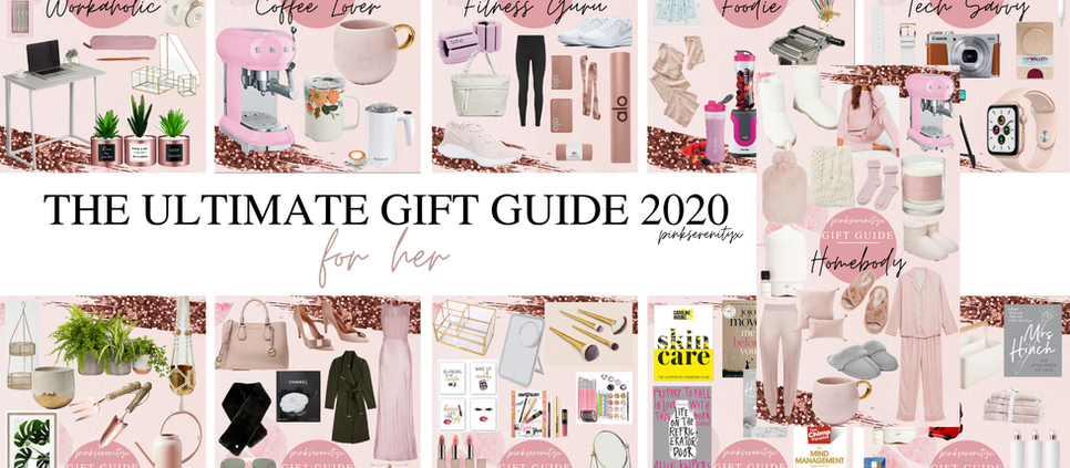 The Ultimate Gift Guide 2020 - For Her