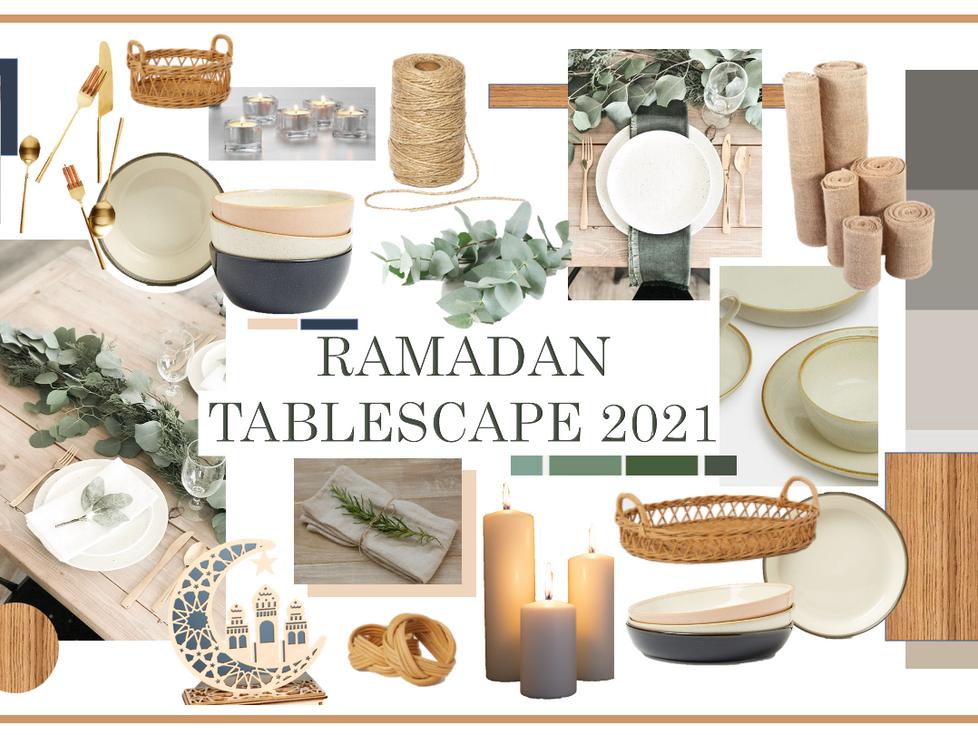 RAMADAN TABLESCAPE 2021