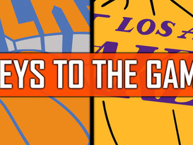 New York Knicks vs Los Angeles Lakers - Keys to the Game.