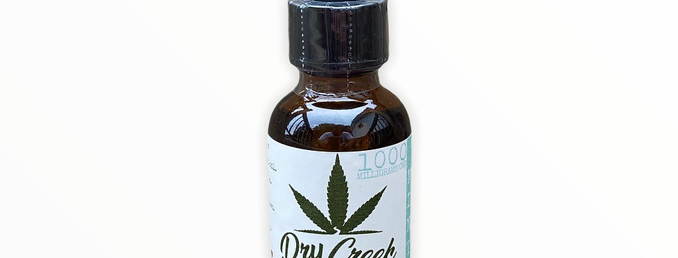 ISOLATE CBD OIL 1000mg Mint (30ml) (THC Free)