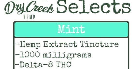 Delta Eight Tincture- Mint