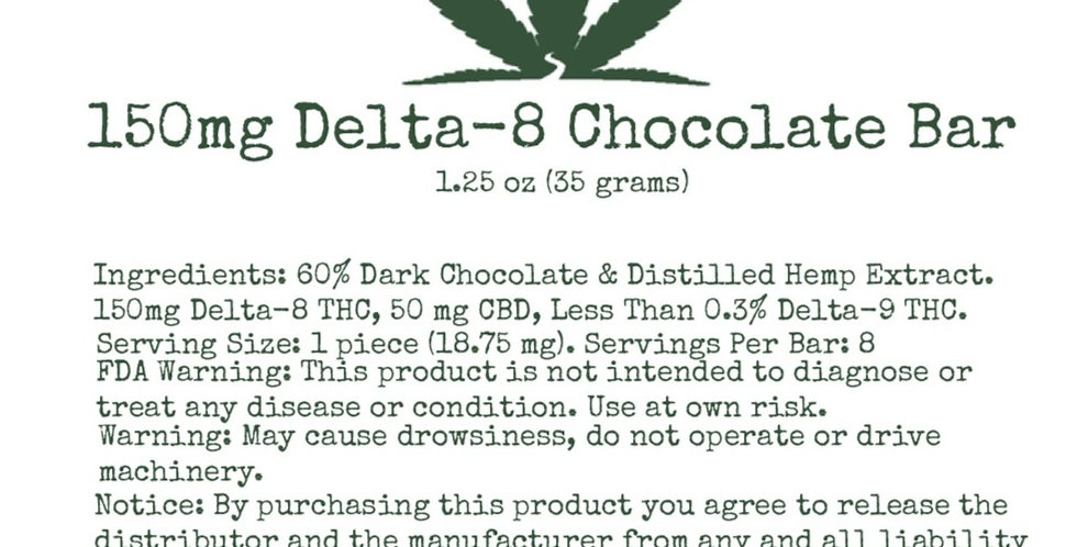 Delta Eight- Chocolate bar