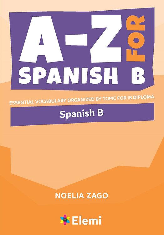 A to Z Spanish B