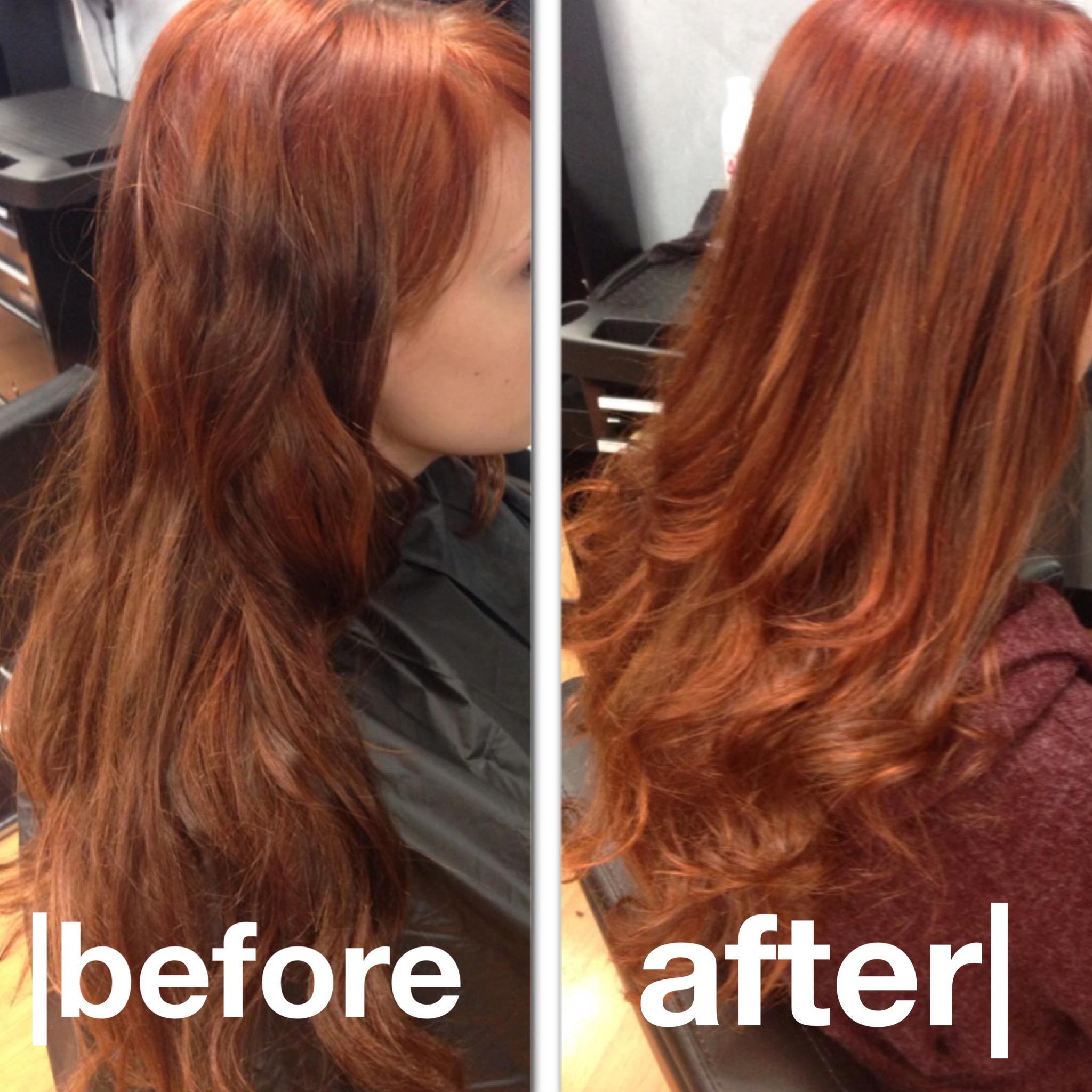 Hair Color Enhancement