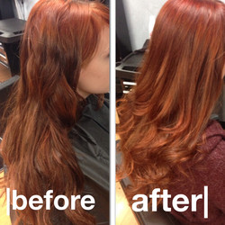 Hair Color Enhancement