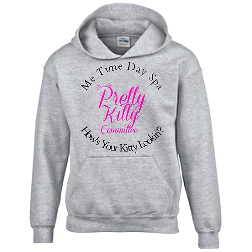 Pretty Kitty Committee Hooded Sweatshirt