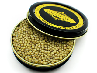 Golden Osetra Caviar | Marshallberg Farm NC USA