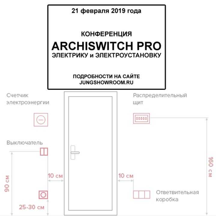 """Конференция """"ArchiSwitch PRO Электрику и электроустановку"""""""