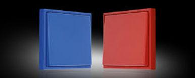 Выключатели JUNG LS990 цветовой палитры Le Corbusier