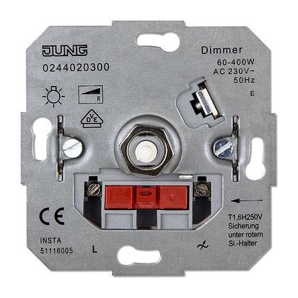 Роторный диммер 60-400Вт для ламп накаливания 230V