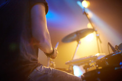 A young drummer rocking out on stage..jpg