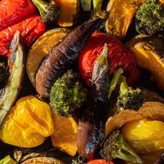 Roast Spring Vegetables