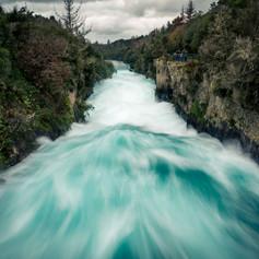 Waikato River, Huka Falls