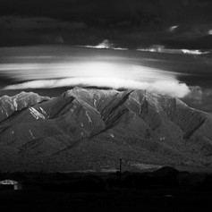 Mt. Taranaki clouds