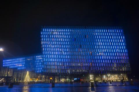 Harpa Centre, Reykjavik
