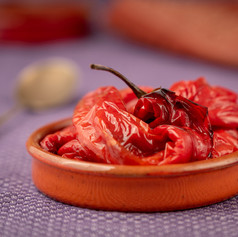 Roast Red Chillies