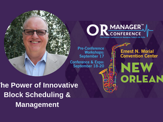 Randall Heiser, MA, BA, President of Sullivan Healthcare Consulting  to Speak at 2019 OR Manager Con