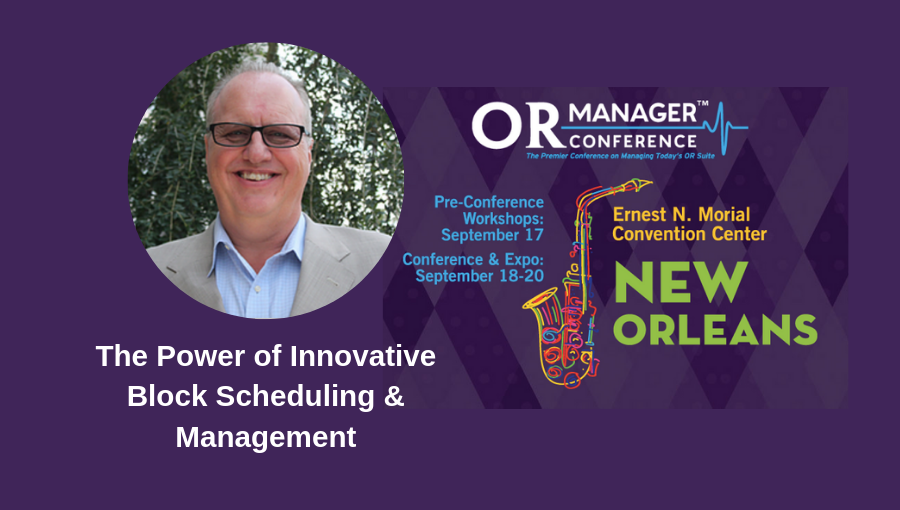Randall Heiser to speak at 2019 OR Manager Conference