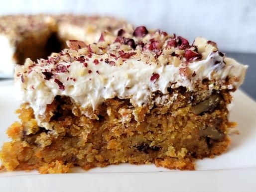 CARROT CAKE - SOURDOUGH DISCARD
