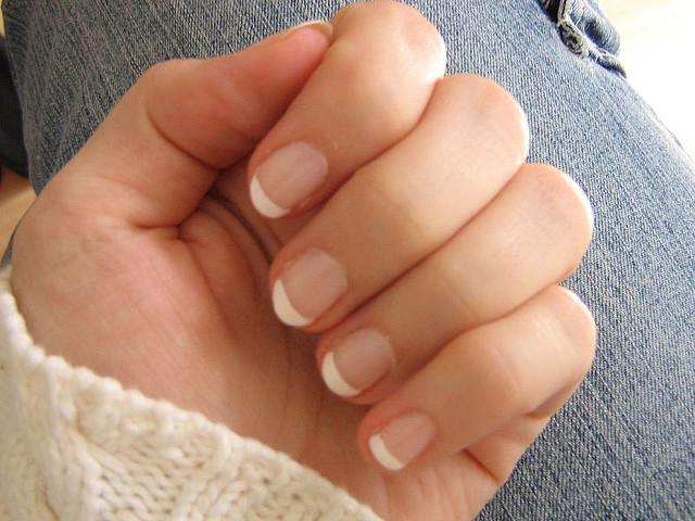 picture : French nails by Lydia Pintscher on Flickr.com