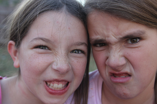 picture : Funny faces by  fivehanks on Flickr.com