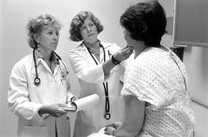 Doctors with patient, 1999 by Seattle Municipal Archives on Flickr.com