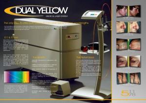 dual yellow