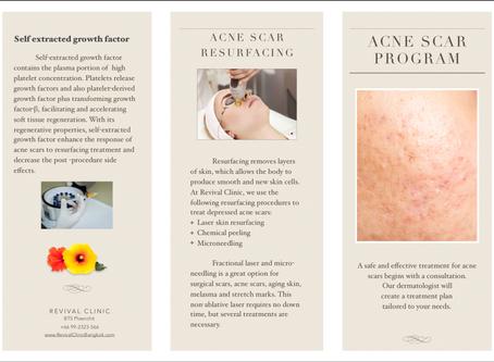 Acne Scar Treatment Program