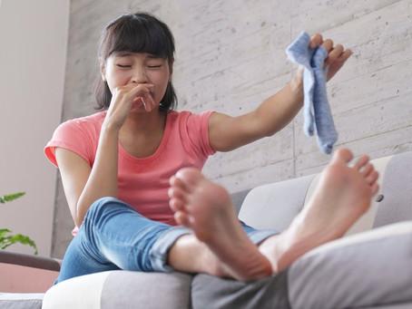 รักษาโรคเท้าเหม็น