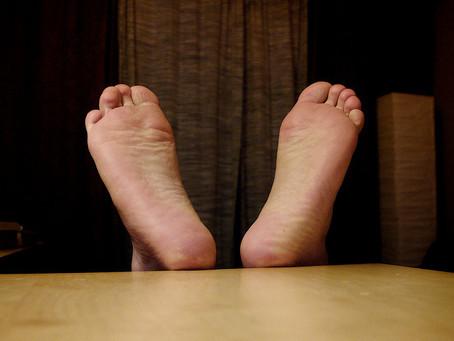 เท้าเหม็น เกิดจาก