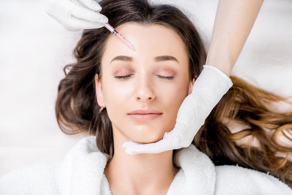 Stem cell facial treatment