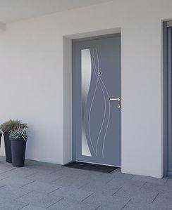 Porte blindée vitrée Lyon