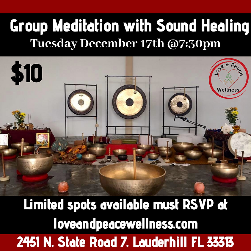 Group Meditation with Sound Healing