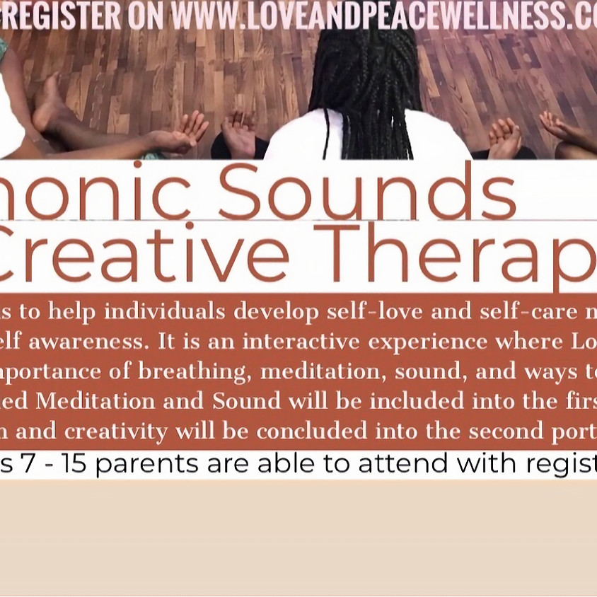 Harmonic Sounds & Creative Therapy