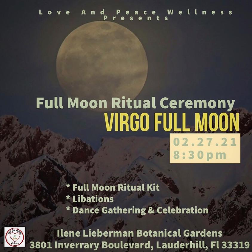 Virgo Full Moon Ritual Ceremony