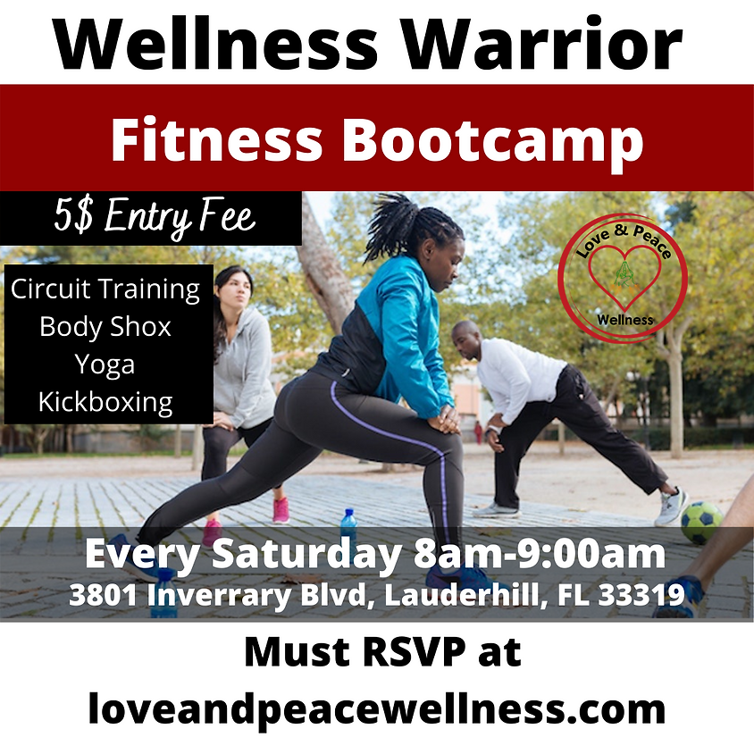 Wellness Warrior Fitness Bootcamp