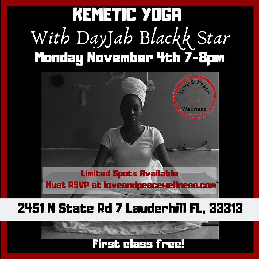 Kemetic Yoga With DayJah BackkStar