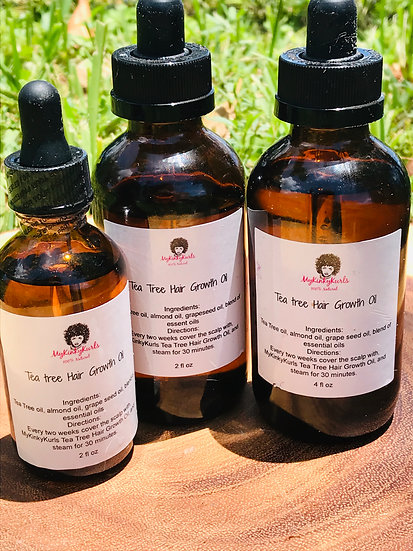 Tea Tree Hair Growth Oil