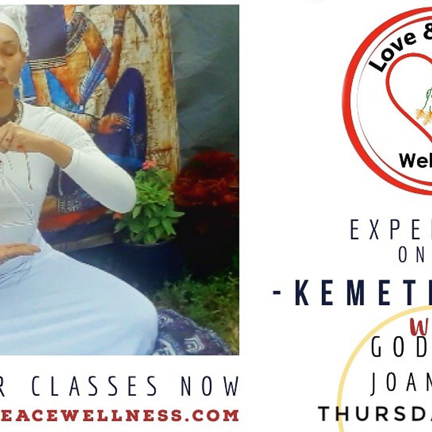 Kemetic Yoga with Goddess Joanambi