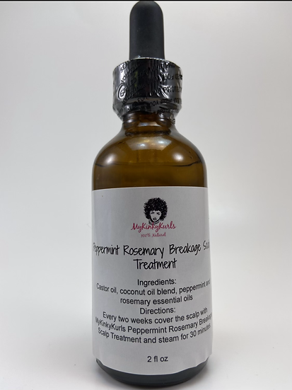 Peppermint Rosemary Breakage Scalp Treatment