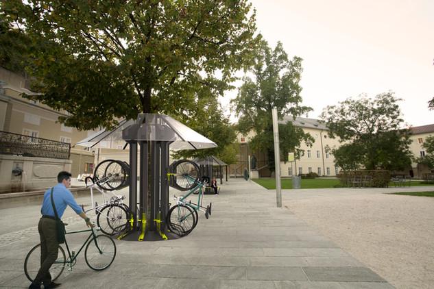 Bikeparker Rendering Salzburg